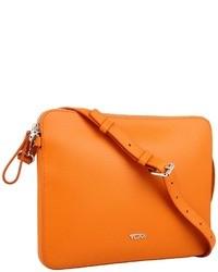 Оранжевая сумка через плечо