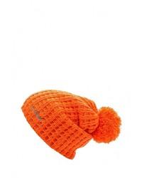 Мужская оранжевая шапка от Anta