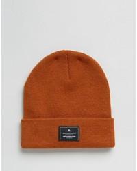 Мужская оранжевая шапка от Asos