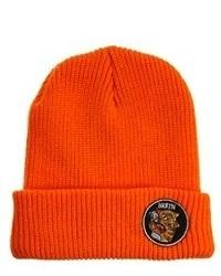 Мужская оранжевая шапка от Brixton