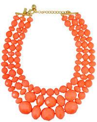 Оранжевое колье