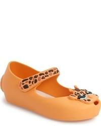 Оранжевые балетки