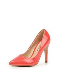 Оранжевые кожаные туфли от Guapissima
