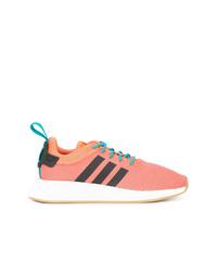 Мужские оранжевые кроссовки от adidas