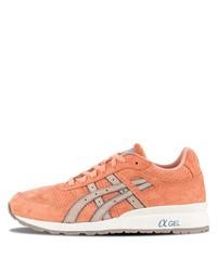 Мужские оранжевые кроссовки от Asics