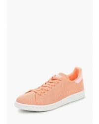 Женские оранжевые низкие кеды из плотной ткани от adidas Originals
