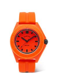 Мужские оранжевые резиновые часы от Bamford Watch Department