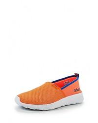 Мужские оранжевые слипоны от adidas Neo