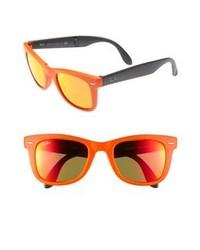 Оранжевые солнцезащитные очки