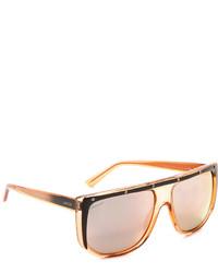 Женские оранжевые солнцезащитные очки от Gucci