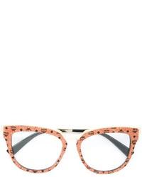 Женские оранжевые солнцезащитные очки от MCM