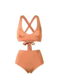 Оранжевый бикини-топ от Haight
