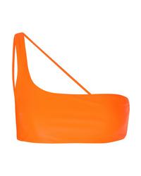 Оранжевый бикини-топ от Jade Swim