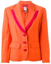 Женский оранжевый пиджак от Kenzo