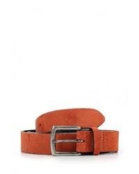Мужской оранжевый ремень от Topman