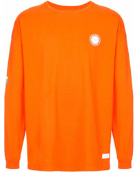Мужской оранжевый свитшот с принтом от Stampd