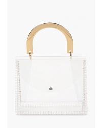 Прозрачная резиновая большая сумка от Topshop