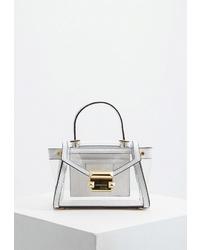Прозрачная резиновая сумка-саквояж от MICHAEL Michael Kors