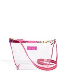 Прозрачная сумка через плечо