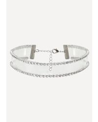 Прозрачное ожерелье-чокер