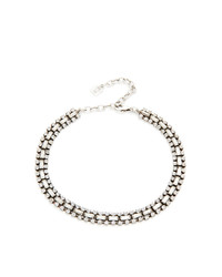 Прозрачное ожерелье-чокер от Dannijo