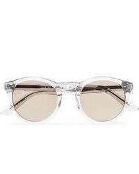 Мужские прозрачные солнцезащитные очки от Kirk Originals