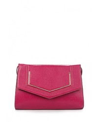 Пурпурная кожаная сумка через плечо от Jane Shilton