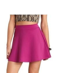 Пурпурная короткая юбка-солнце