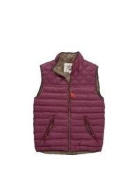 Пурпурная куртка без рукавов
