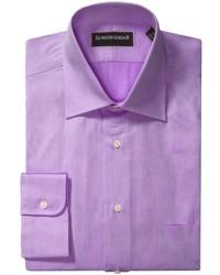 Пурпурная рубашка с длинным рукавом