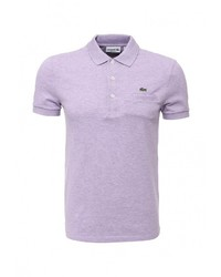 Мужская пурпурная футболка-поло от Lacoste
