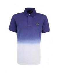Мужская пурпурная футболка-поло от Love Moschino