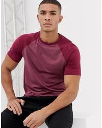 Мужская пурпурная футболка с круглым вырезом от ASOS DESIGN