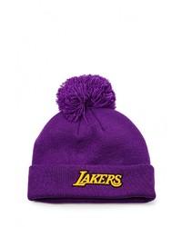 Мужская пурпурная шапка от adidas Originals