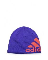 Мужская пурпурная шапка от adidas Performance