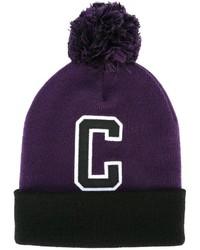 Мужская пурпурная шапка от Carhartt