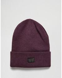 Мужская пурпурная шапка от G Star