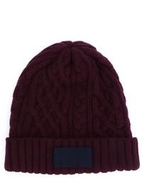 Мужская пурпурная шапка от Sacai