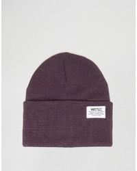 Мужская пурпурная шапка от Wesc