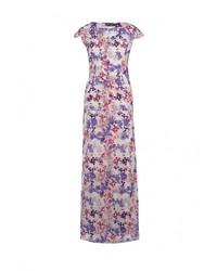 Пурпурное платье-макси от Love & Light