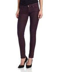 Женские пурпурные джинсы скинни от Mavi Jeans