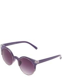 Пурпурные солнцезащитные очки