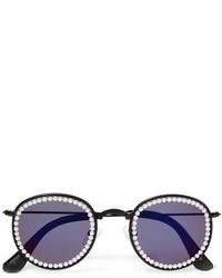 Женские пурпурные солнцезащитные очки