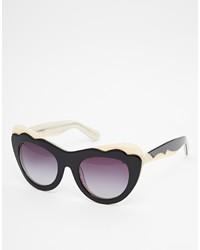 Женские пурпурные солнцезащитные очки от Asos