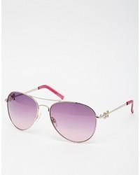 Женские пурпурные солнцезащитные очки от M:uk