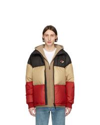 Мужская разноцветная куртка-пуховик от Burberry