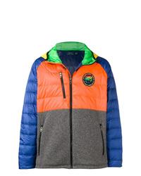 Мужская разноцветная куртка-пуховик от Polo Ralph Lauren
