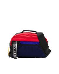 Разноцветная поясная сумка из плотной ткани