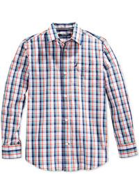 Разноцветная рубашка с длинным рукавом