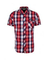 Мужская разноцветная рубашка с коротким рукавом от Lonsdale